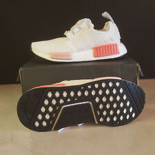 Adidas NMD R1 White Pink BY9952 Women's Size 6 2017 Release Running