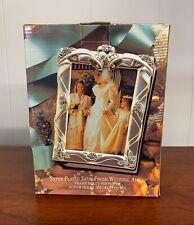 Vintage - GODINGER Silver Plated Satin Finish Wedding Album 1995