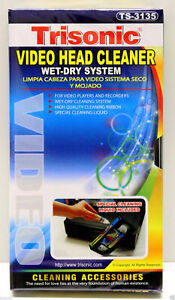 Video Head Cleaner For VHS VCR Player Recorder NEW FAST FREE SHIPPING