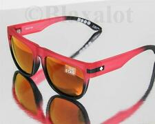 NEW SPY STAG SUNGLASSES Strawberry Fields-Fade to Black / Red Spectra Mirror