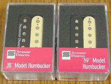 NEW Seymour Duncan SH-4 JB & SH-1n 59 REVERSE ZEBRA Humbucker PICKUP SET Pickups