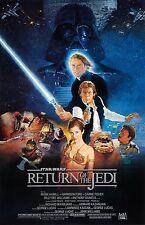 Star Wars Return of the Jedi Movie Poster (24x36) - Mark Hamill, Harrison New