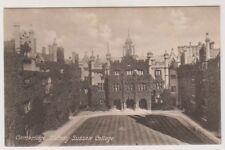 Cambridgeshire postcard - Sidney Sussex College