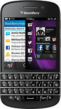 Unlocked Blackberry Q10 4G LTE  Bell Telus Rogers AT&T with 6 Month Warranty