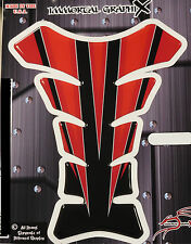Immortal Graphix Razor Spear Black Red Motorcycle Tank pad tankpad protector