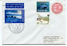 Ross Dependency New Zealand ROUND STAMP Polar Antarctic Cover