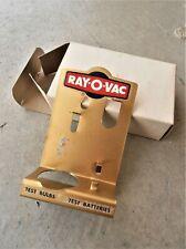 RAY-O-VAC FLASH LIGHT BATTERY BULB LAMP TESTER w/ BOX - Advertising Display