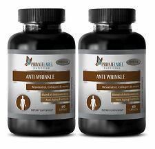 Green tea extract pills - ANTI WRINKLE COMPLEX 1395mg - Immune Support - 2 Bot