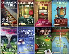 Aurora Teagarden Mysteries Series Collection Set 1-8 Paperback Charlaine Harris