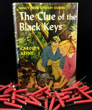 Vintage Nancy Drew #28 The Clue of the Black Keys DJ 1961A-27