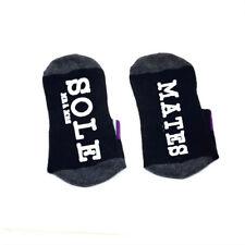 Mates sole word on socks Mrs and Mr socks cotton comfortable unisex Socks