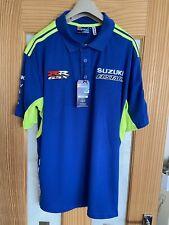 Suzuki Team Polo Shirt, Moto GP, Size XL, Superbike, New,