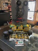 95'-00' Polaris Indy XLT 600 Rebuild Kit 66mm Bore 1mm O/S Pistons Comp. Gaskets