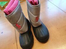 Ralph Lauren Girl's Winter Snow Boots Size 2.5 - New