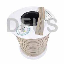 Beige Upholstery cushion zipping * No3 continuous chain zip. 200mtr & 200 slider