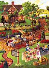 Jigsaw Puzzle Americana Quilts Mary's Quilt Country 500 pieces NEW Made in USA