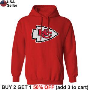 Kansas City Chiefs Hoodie Hooded Sweat Shirt Sweatshirt Sweater KC
