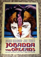 JOHANNA VON ORLEANS /Joan of Arc* INGRID BERGMAN - A1-FILMPOSTER WA  Ger 1-Sheet