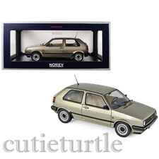 Norev 1988 Volkswagen Golf CL 1:18 Model Car 188519 Beige Metallic