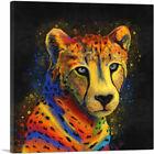 ARTCANVAS Cheetah Africa Savannah Cat  Canvas Art Print