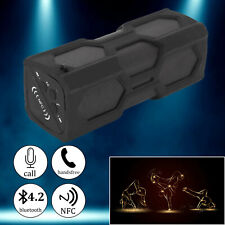 More details for 1800mah portable wireless bluetooth speaker waterproof stereo bass subwoofer nfc