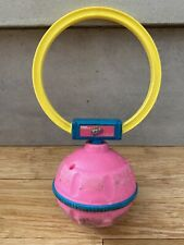 1998 90's Retractable Kick & Spin Skip It Toy by Tiger w/ Built In Counter -Pink