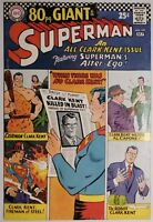 SUPERMAN #197 (DC 1967) FN+ (6.5) 80 Page Giant - All Clark Kent Issue!