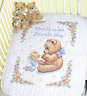 Dimensions - Stamped Cross Stitch Quilt Kit - Sweet Prayer - D13088