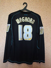 Leicester City ENGLAND MATCH WORN FOOTBALL SHIRT JERSEY MAGLIA JOMA #18 WAGHORN