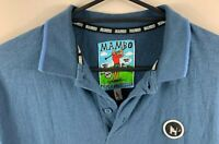 Mambo Triple Bogey Club Men's Golf Polo Shirt Size Large Summer Casual Shirt