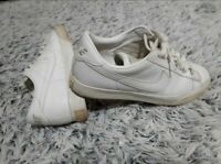 Mens Nike BRS Sweet Classic Vintage court shoe perforated leather White Sz 9.5