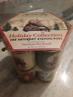 Norman Rockwell Collectible Saturday Evening Post Harmony Bay Gourmet Coffee Tin