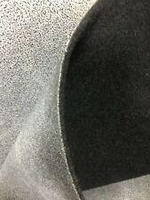 BLACK CAR CARPET FABRIC Vans Automobile Interiors Mats Motorhome Trim Acoustic
