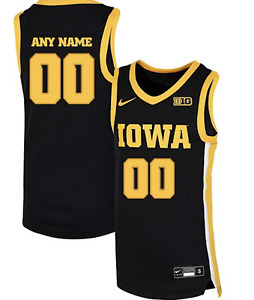 Iowa Hawkeyes CUSTOM Basketball Jersey +700 SOLD Adult Small to Adult 3XL