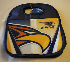 West Coast Eagles AFL Navy Printed Insulated Carry Lunch Box Cooler Bag New