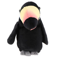 MagiDeal Talking Parrot Toys Repeat What You Say Kids Learning Toys Black