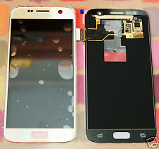 GENUINE GOLD SAMSUNG SM-G930F GALAXY S7 SCREEN 2k LCD DISPLAY PLUS ADHESIVE