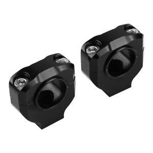 28mm CNC Alu Motorrad Lenker Klemmen Halterung Clamp Lifter Bar Riser