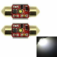 Bulb 31MM 1 Cree SMD Led Canbus Error Free Car Festoon Dome Light White DC 12V