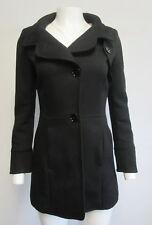 MAX & CO. Classics black 100% wool 3- button jacket coat sz I 36/ US 2