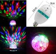 RGB LED Laser Light Projector Party DJ Disco KTV Stage Rotation Crystal Ball hs