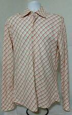 Hugo Boss Black Label Long Sleeve Shirt Mens Size 16 36/37 Plaid