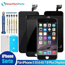 Für iPhone 5 5S 6 6S 7 8 Plus Display LCD RETINA VORMONTIERT Komplett Front DHL