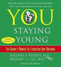 YOU - STAYING YOUNG : THE OWNER'S MANUAL, DR OZ, AUDIO ON CD, GOOD CONDITION
