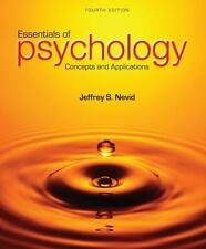 Essentials of Psychology : Concepts and Applications by Jeffrey S. Nevid (2014)