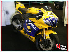 CARENA ABS FAIRING KIT YAMAHA YZF R6 2006/07 GRAFICHE PERSONALIZZABILI CAMEL GP