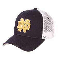 NCAA Notre Dame Fighting Irish Big Rig Trucker Mesh Adjustable Hat / Cap
