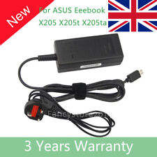 Power Supply Charger Adapter for ASUS EeeBook X205T X205TA Laptop E200Ha UK Plug