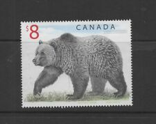 Canada 1997 $8 Bear used postage stamp ref 1