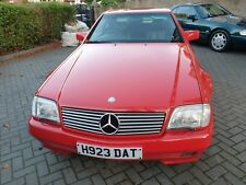 mercedes sl500 low mileage